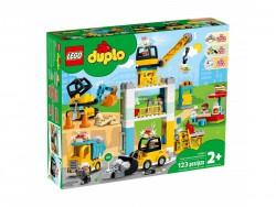 LEGO Duplo Żuraw wieżowy i...