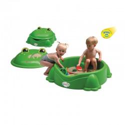Piaskownica żaba duża zielona