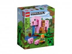 LEGO Minecfart Dom w...