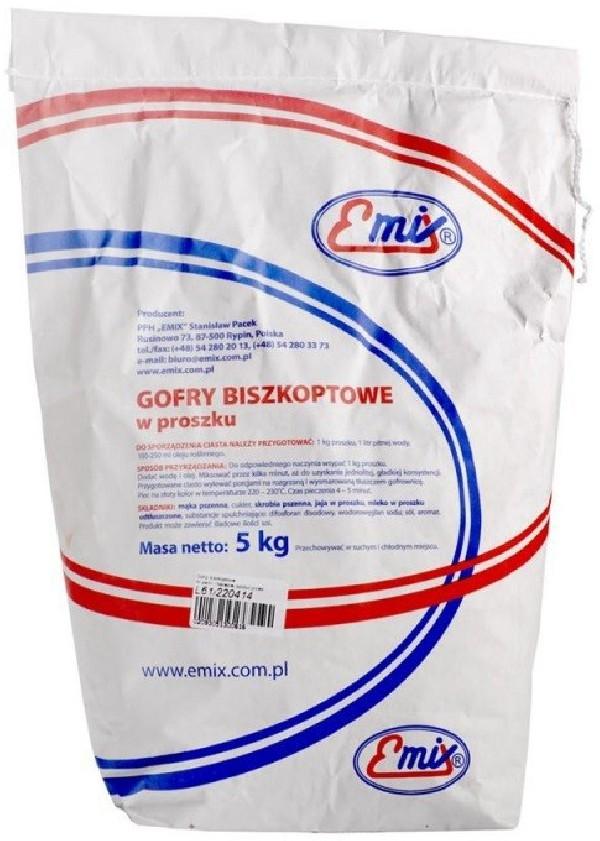 Emix proszek do pieczenia gofrów 5 kg