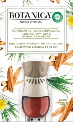 Odświeżacz powietrza Air Wick Karaibski Wetiwer & Drzewo Sandałowe