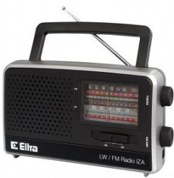 Eltra Iza radio czarne